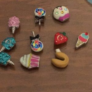 Origami owl food charms.